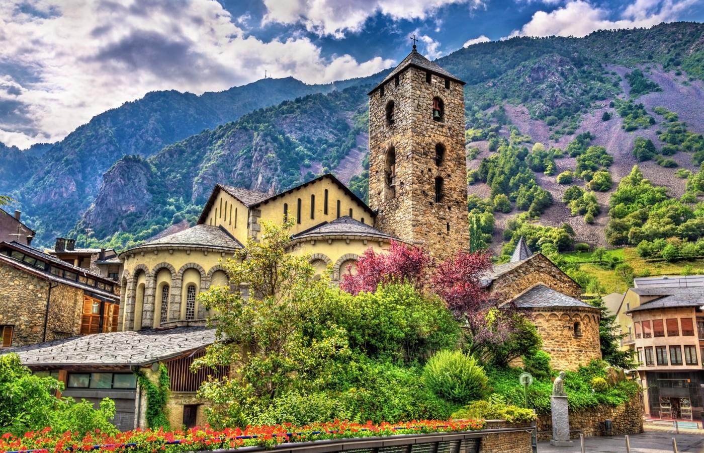 Iglesia de Sant Esteve. Andorra la Vella, Andorra